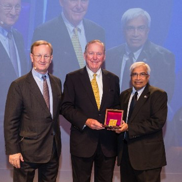 IHRDC's executive receives Charles F. Rand Gold Medal awarded by the Society of Petroleum Engineers.
